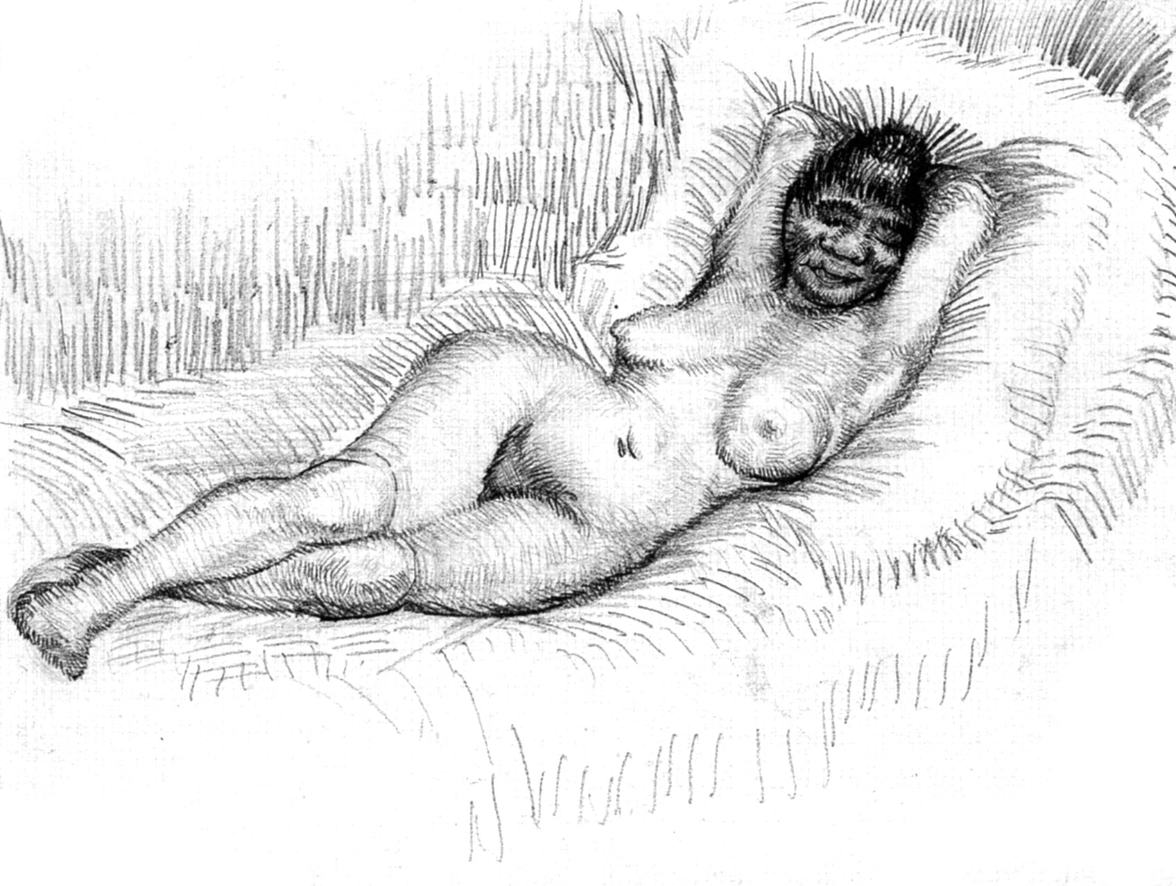 Nude by Van Gogh